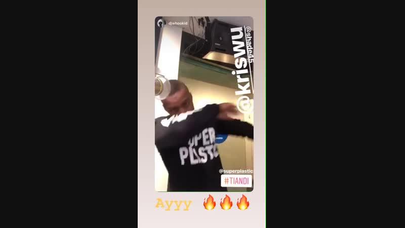 [VIDEO] 181021 Kris Instagram Story Update
