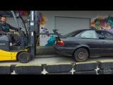 HOONIGAN Daily Transmission 008 We buy a $350 BMW for Yard Antics