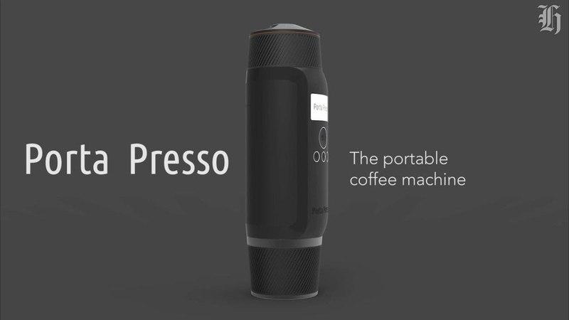 Porta Presso espresso coffee machine портативная Кофе машина
