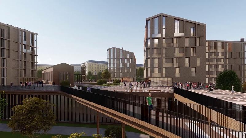 Архитектурно-градостроительная концепция жилого комплекса в г. Минск