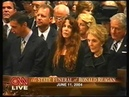 State funeral of Ronald Reagan CNN live coverage 6 11 2004