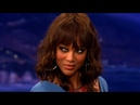 Tyra Banks Interview Part 02 - Conan on TBS