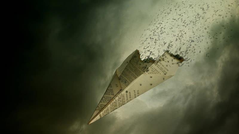 Бумажный самолетик Paper Plane
