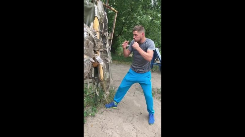Денис Беринчик тренировки в Гидропарке город Киев 3