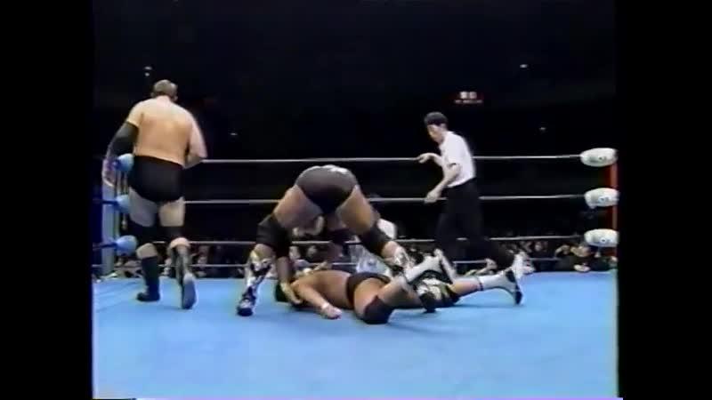 1998.02.28 - Stan Hansen/Bobby Duncum Jr. vs. Takao Omori/Jun Izumida [JIP]