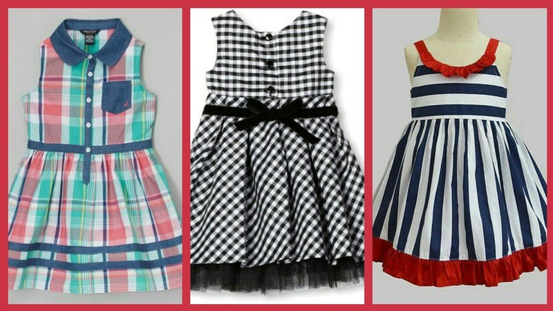 Latest summer outfit designs for kids - Cotton frocks designs ideas 2018