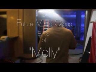 B.T.S Tyga Feat Wiz Khalifa and Mally Mall Molly Music Video Shoot