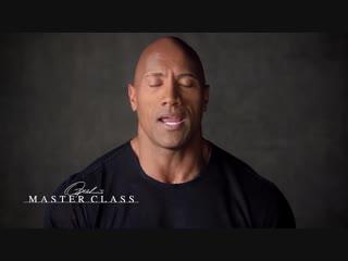 How a High School Coach Changed Dwayne Johnsons Life Oprah's Master Class Oprah Winfrey Network
