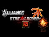 LAN Fnatic vs Alliance #1 (17.01.14) Semi Final Starladder 8 Dota 2 (RUS) SLTV