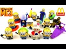 McDONALD'S DESPICABLE ME 3 MOVIE HAPPY MEAL TOYS MINIONS WORLD COLLECTION SET UPDATE 14 KIDS 2017 US