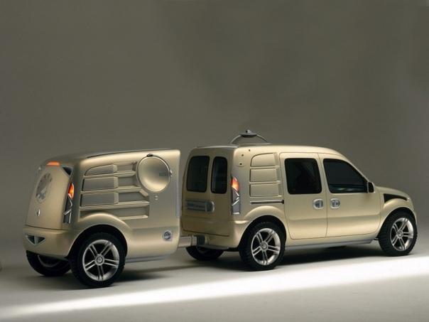 enault Pangea. Французский концепт-кар. enault Pangea был создан в 1997-м году Renault Group. За основу использовали базу автомобиля Renault angoo, который был представлен в том же году, однако