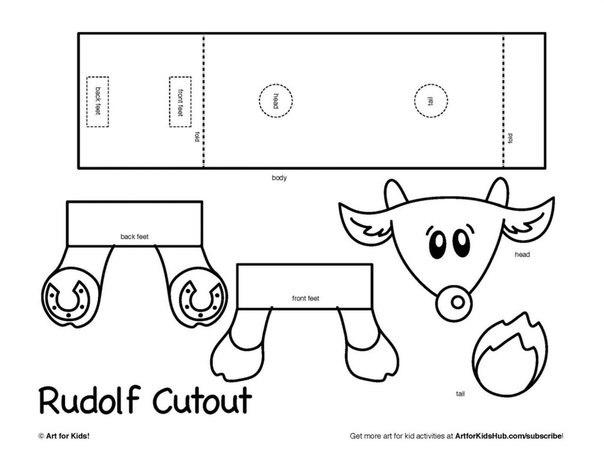 Объемные поделки из бумаги для детей схемы шаблоны