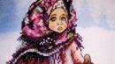 Вышивка крестиком♛ Русская зима по авторской схеме Адоньевой Ксении♛Готовая работа