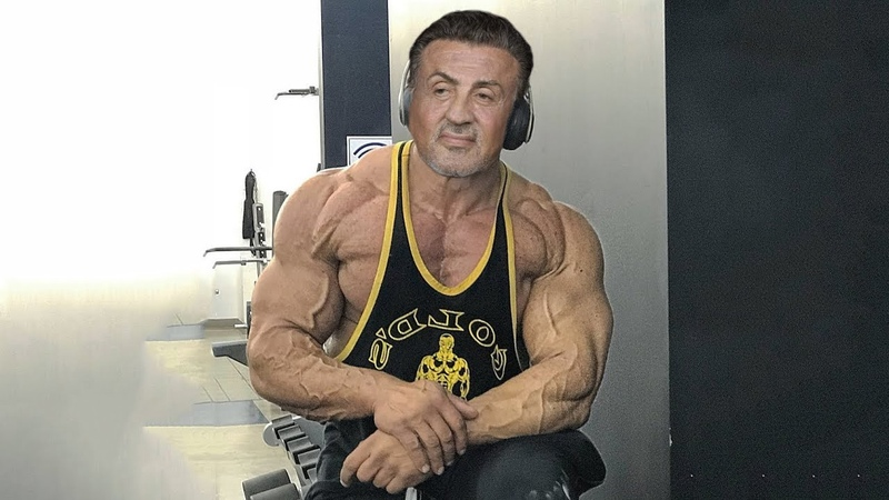 Sylvester Stallone Train Hard at 72 Years Old