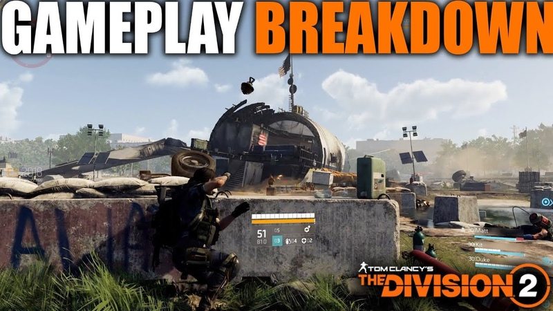 DIVISION 2 GAMEPLAY BREAKDOWN | BIG CHANGES FROM DIVISION 1 WITH MOVEMENT, VAULTING, MEDKITS MORE