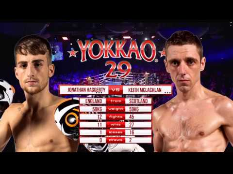 YOKKAO 29 Jonathan Haggerty England vs Keith McLachlan England 59kg
