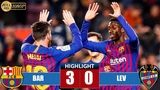 Barcelona vs Levante 3-0 Highlights - Resumen y Goles - 1712019