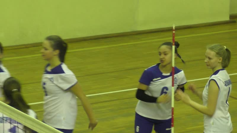 волейбол Динамо Метар Челябинск - Енисей 2 (Красноярск) 3:0