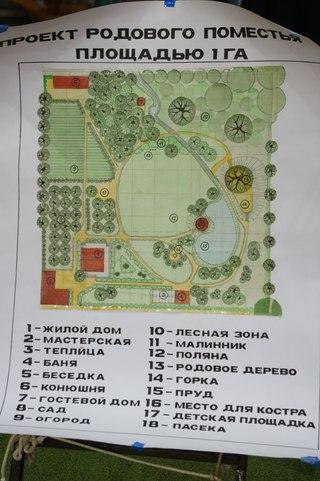 Проект родового поместья