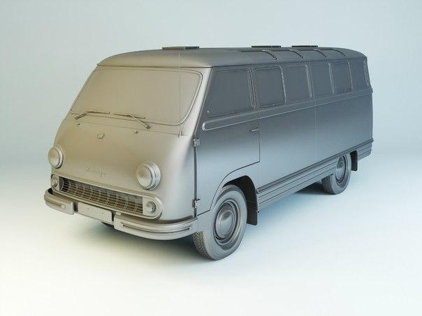 Автолегенды СССР №132 РАФ-977Д