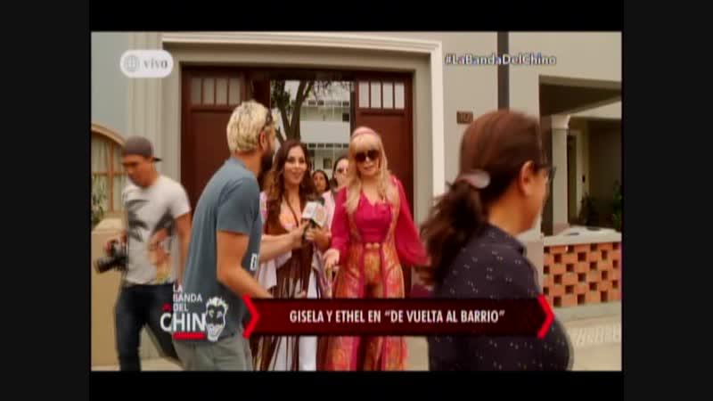 Nota - Gisela y Ethel en De vuelta al Barrio
