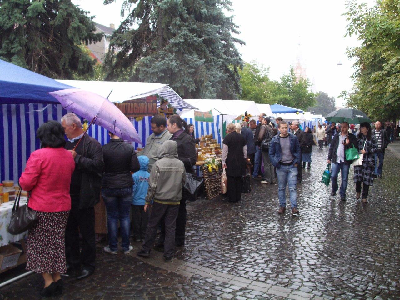 Ярмарка меду в Мукачево