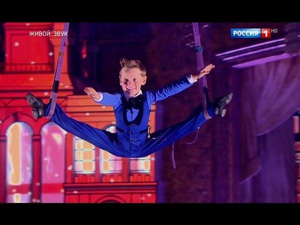 Дмитрий Рыбак и Ульяна Шумакова - Воздушная гимнастика - Тема из к/ф