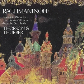 Sergei Rachmaninoff альбом Rachmaninoff: Complete Works for Two Pianos