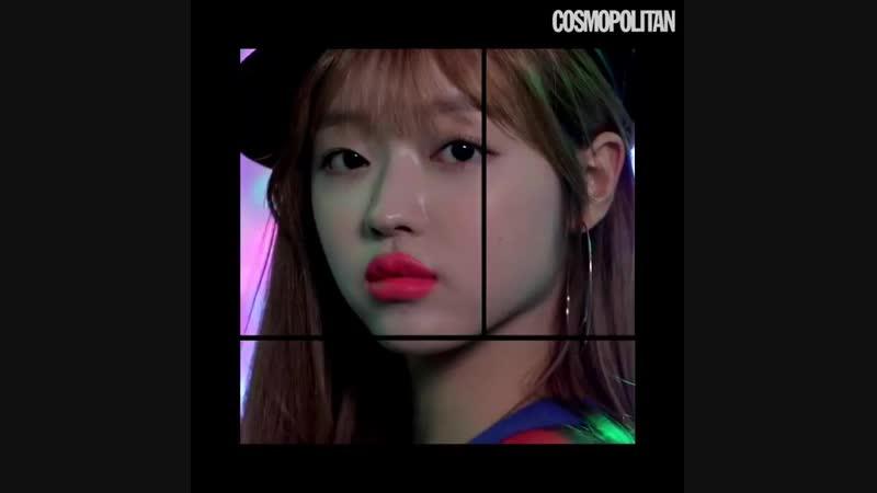 · Magazines · 181127 · OH MY GIRL (YooA) · Обновление инстаграма журнала Cosmopolitan Korea ·