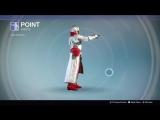 Destiny_20180128 WHITE-RED WARLOCK . ZNAK POINT .