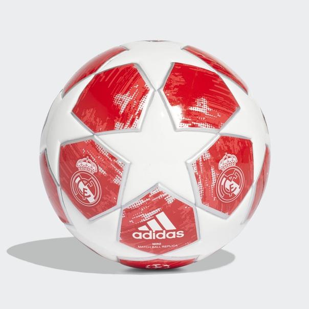Футбольный мини-мяч Реал Мадрид Finale 18