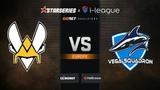 Vitality vs Vega Squadron, map 2 Mirage, StarSeries &amp i-League S7 GG.Bet EU Qualifier