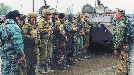 Постановка боевой задачи перед началом специальной операции.