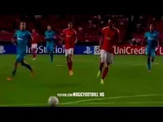Hulk Great Goal ~ Benfica vs Zenit 0-2 2014 ~ Champions League 2014/2015