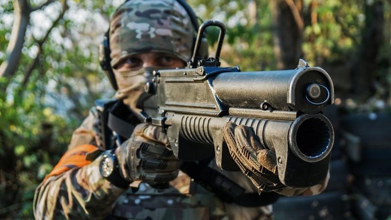тренировка СПН взрыв, стрельба в щит, работа в группе