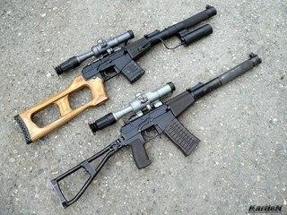 специальные, снайперские, вал, Ас, всс, винторез HD обои на рабочий стол.