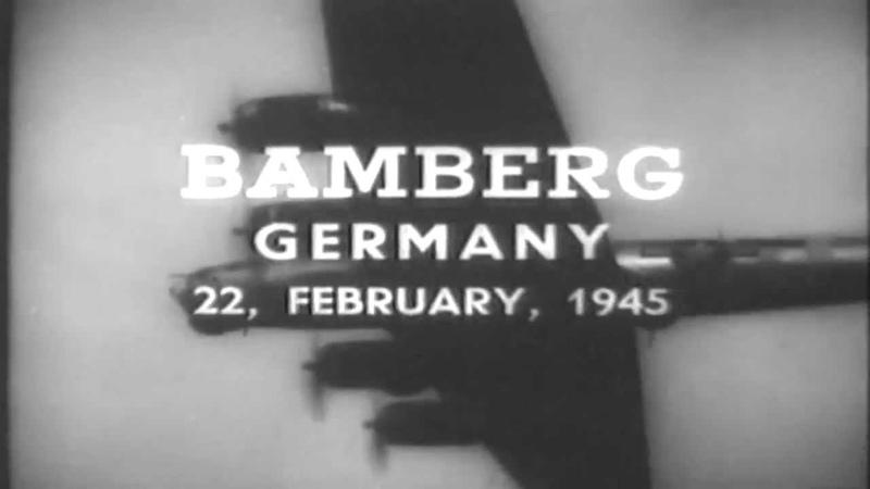 WWII B 17 Operational Report Clarion GSAP Film Feb 22 23 1945 full