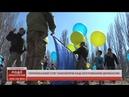 Прапор України на повітряних кульках запустили у Світлодарську