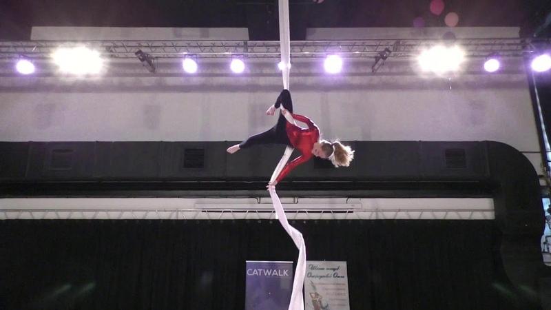 Евгения Крупенникова - Catwalk Dance Fest [pole dance, aerial] 30.04.18.