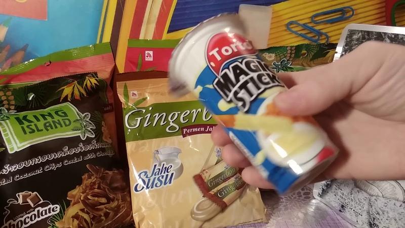 Распаковка посылки с азиатскими вкусняшками 2