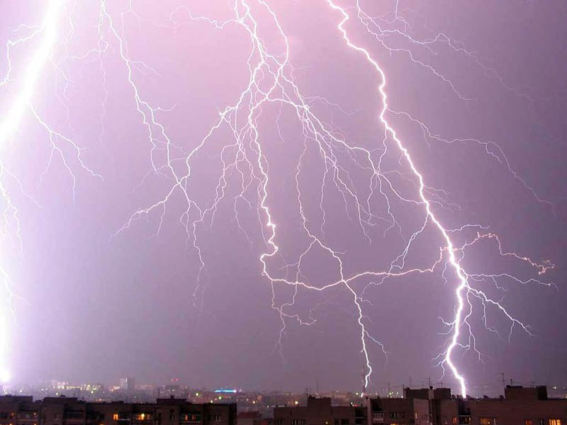 грозовые дожди в Таганроге