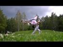 Тренировка лето парк Капоэйра Abada Capoeira