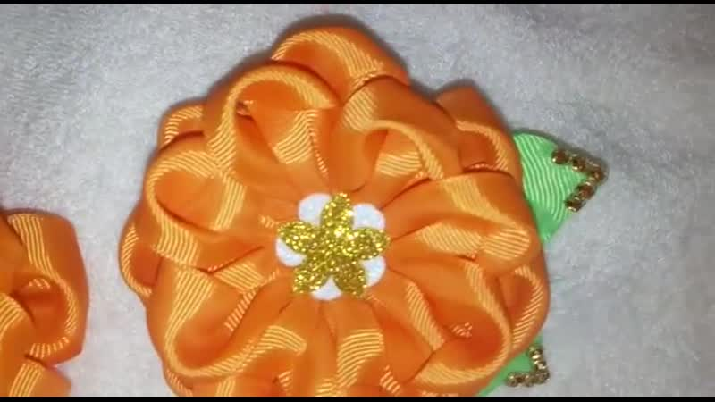 Бантики оранжевое настроение