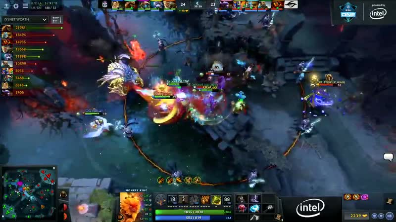 This Boundless Strike from Topson is a treat for the eyes and iLTWs Lifestealer - DreamOG