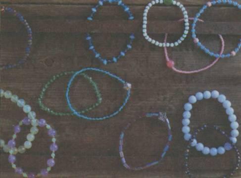 Тот, кто считает, что плетение браслетов из бисера - занятие для. .  Самые простые браслеты из бисера представляют...
