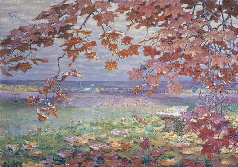 васнецов осенние листья