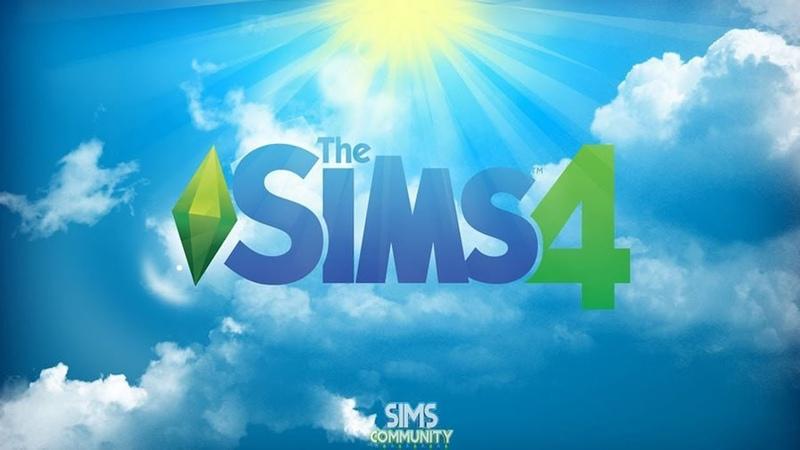Играю в игру SIMS4 Создаю персонажа Any Wit