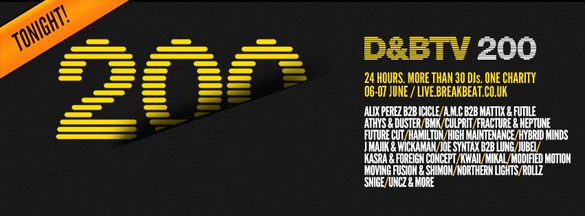 D&BTV Live #200 (06-07.06.2012)