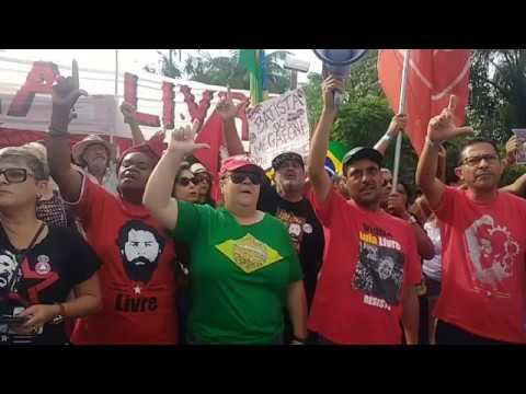 Agora Programação do dia para o depoimento de Lula e o Bom dia Presidente. EuSouLula LulaLivre