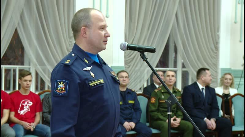 Более 40 новобранцев из Вологды пополнили ряды «Юнармии»